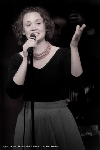 Hilary Gardner at Birdland -  2014-04-20